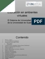 Educación en ambientes virtuales