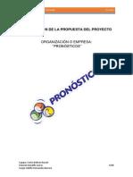 Pronosticos - Propuesta de Proyecto