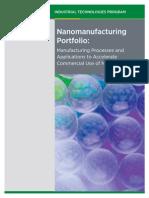 Nanomanufacturing Portfolio