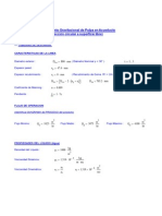 Mathcad - Transporte en Acueducto