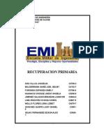 Recuperacion primaria est. EMI