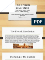 the french revolution chronology