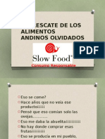 Ponencia Simposio Tambo 2014 SLOW FOOD