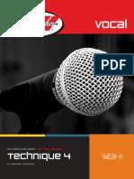 Vocal Technique 4