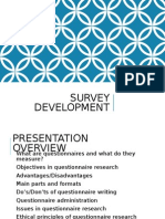 lecture 2a - developing a survey