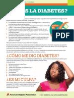 Diabetes Tipo 2 en Los Jovenes 03 05