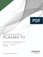 LG Tv 60pb6600 Manual