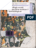 Psicologia Social Perspectivas Teoricas y Metodologicas Jose Luis Alvaro Estramiana