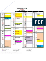 Academic Calendar 2015~staff