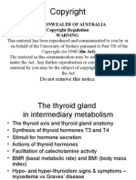 Metabolism, Growth & the Thyroid Gland (3)