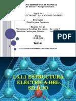 1.3.1.1 Estructura Eléctrica Del Silicio