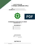 Format Laporan PKL AK3 Umum