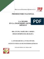 La Mujer en La Ing. Química en México