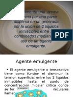 Exposicion Crema Hidratante Quimica Analitica e