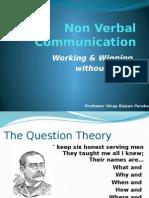 Non Verbal Communication - Prof Vinay Parakala