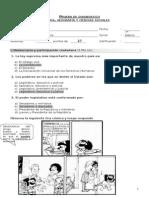 prueba diagnostica Historia 7°