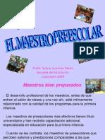 #1 Maestro Preescolar