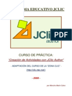 Jclic2008 Tutorial