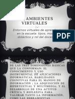 Los Ambientes Virtuales