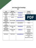 Informacion Campos Clinicos 2015-Alumnos