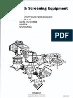 Gyratory Crusher 54 x 74 Serie 06ha08228 ( Maricunga )
