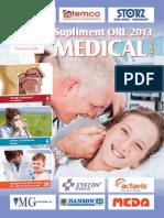 Supliment ORL 2013