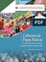 Catálogo Etnobotánico, Morfológico, Agronómico y Calidad de Cultivares de Papas Nativas Sierra Centro Norte Del Ecuador