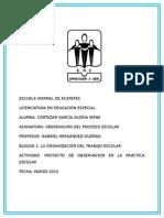 Proyecto de Observación Preescolar  (Fracc. Americas)