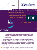 Feroxyl and Copper Sulfate Testing