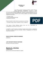 Karen Hortua Gerente Servicios
