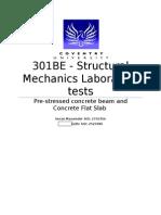 Structural Mechanics 301BE