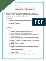 Modelo Didáctico -Actividad