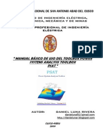 Manual de Uso Basico Del Power System Analysis Toolbox