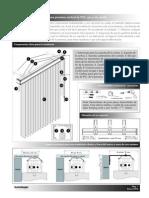 El Proceso de Instalacion de La Persiana Vertical de PVC (2)