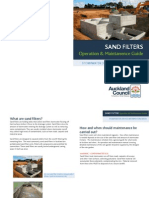 Sand Filters Operation Maintenance Guide