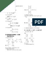 Matrices Ejercicios