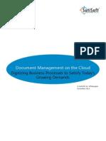 Document Management Software – WhitePaper | SutiDMS
