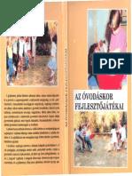 Az Óvodáskor Fejlesztőjátékai-könyv