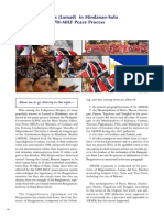 Indigenous Peoples (Lumad) in Mindanao-Sulu Affected by the GPH-MILF Peace Process