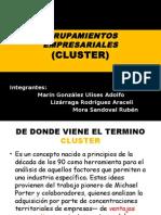 Agrupamientos Empresariales Cluster (1)