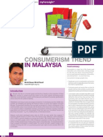 5 Viewpoints- Consumerism Trend in Malaysia