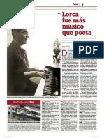 Lorca, músico....