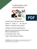 Adicciones y Sus Caracteristicas (FORCE)