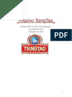Tsingtao Final Marketing Plan