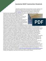 Pavimentos Agroalimentarios BASF Construction Chemicals Espana