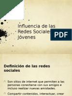La unfluencia de los jóvenes en las redes sociales.pptx