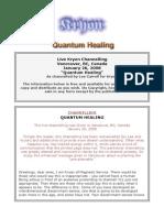 Kryon Quantum Healing