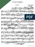 Paganini Cantabile Op17 Violin