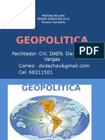 TEMA 1 GEOPOLITICA Generalidades