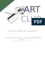 Art Club Flyers
